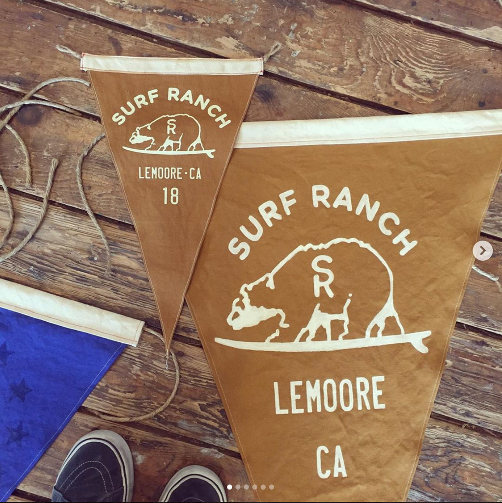 Super-Sized Surf Flags