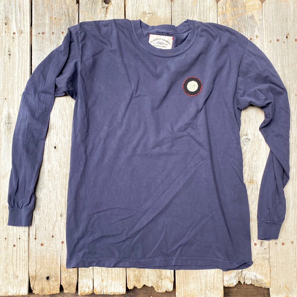 LS Full Moon Patch T-shirt (L)