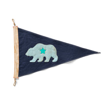 Load image into Gallery viewer, CA Bear Flag - Blue