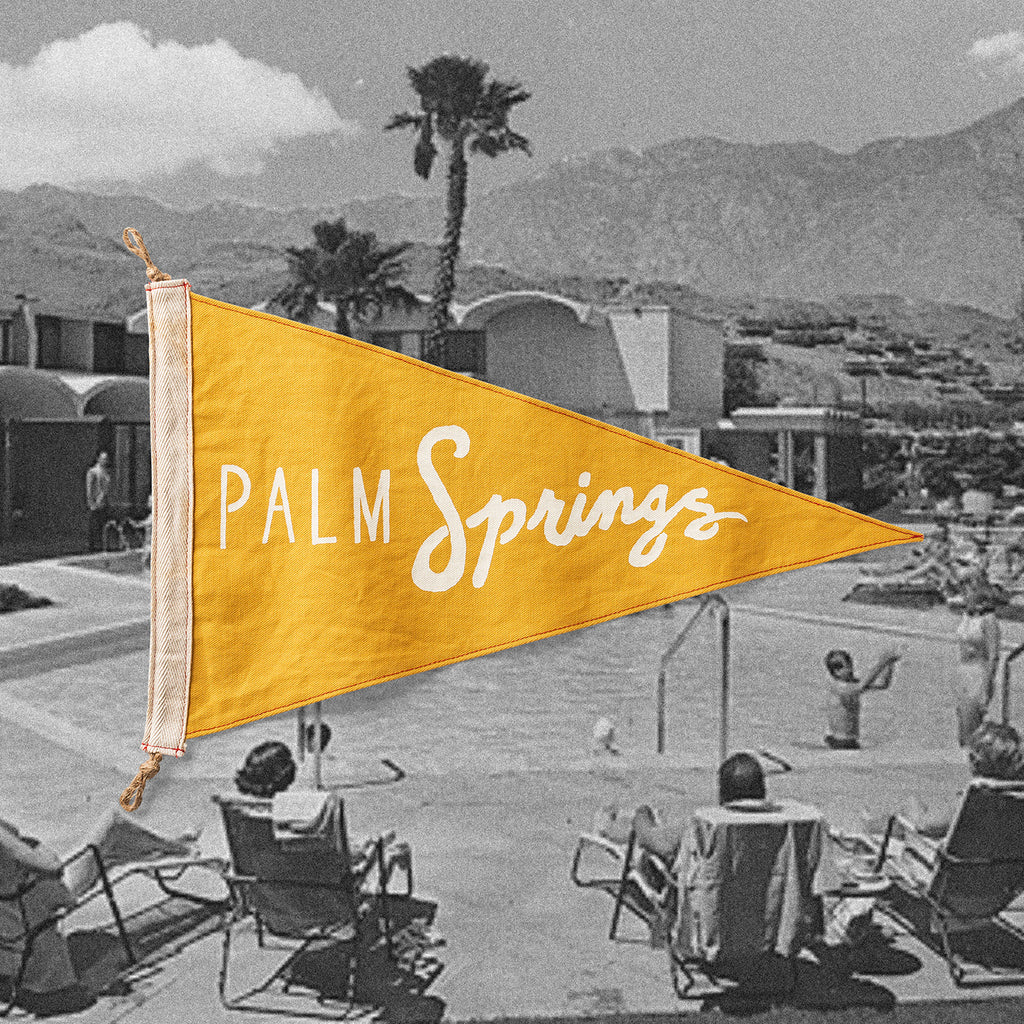 Palm Springs Flag