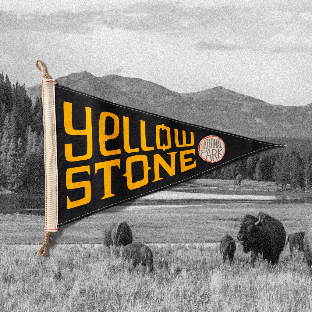 Yellowstone Flag