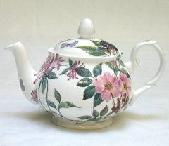 Tea Flower Two Cup Teapot