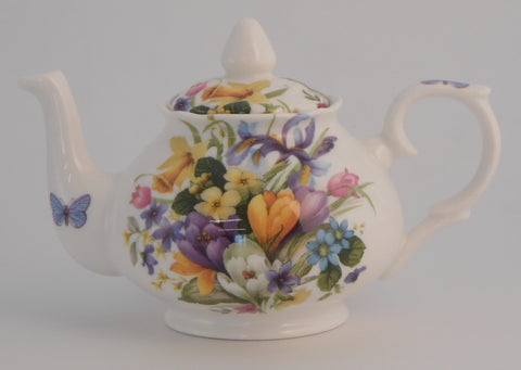 Spring floral Hester 4 Cup and 2 Cup Tea Pot