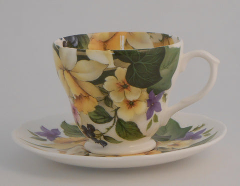 Spring Flower Hester Cup and Saucer