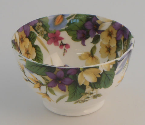 Spring Flower Sugar Bowl