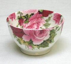 Summertime Rose Sugar Bowl