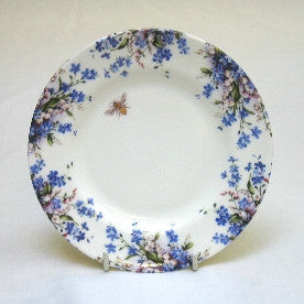 Forget-Me-Not & Lily Cake Plate