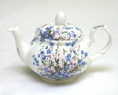 Forget-Me-Not & Lily Two Cup Teapot