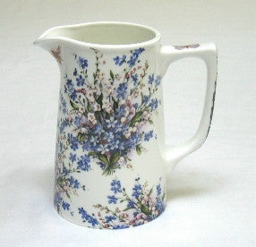 Forget-Me-Not & Lily Large Tankard Jug