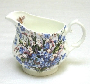 Forget-Me-Not & Lily Milk Jug