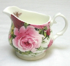 Summertime Rose Milk Jug