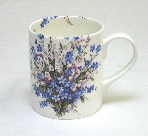 Forget-Me-Not & Lily Small Mug