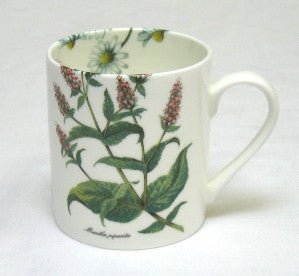 Tea Flower Small Mug with Peppermint & Chamomile