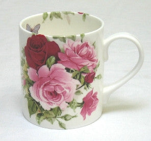 Summertime Rose Tea Mug