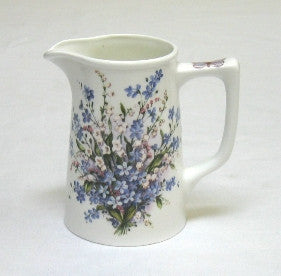 Forget-Me-Not & Lily Small Tankard Jug