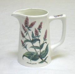 Tea Flower Small Tankard Jug with Peppermint & Chamomile