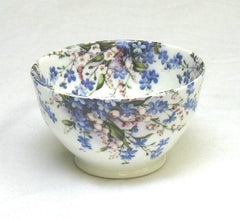 Forget-Me-Not & Lily Sugar Bowl