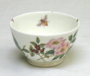 Tea Flower Sugar Bowl with Rose Hip, Peppermint & Marshmallow