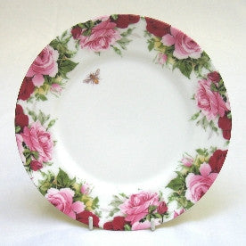Summertime Rose Medium Plate