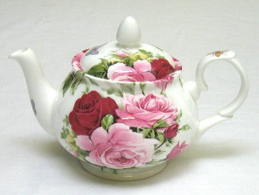 Summertime Rose Small Teapot