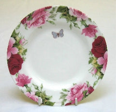 Summertime Rose Cake Plate