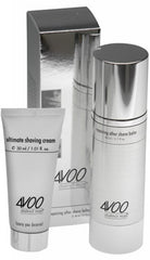 complimentary gift of 4VOO ultimate shaving cream (30 ml)