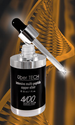 uber TECH intensive multi-peptide copper elixir