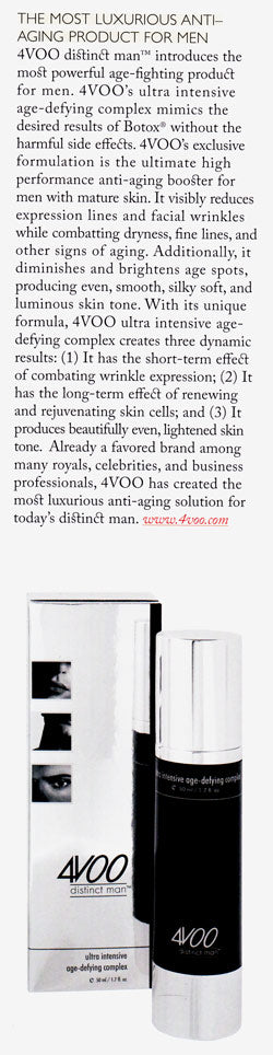 4VOO Ultra Intensive Age-Defying Complex review in Kingdom magazine
