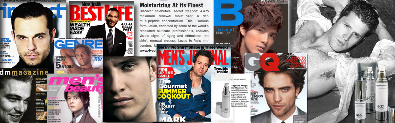 4VOO maximum renewal moisturizer recommended by press