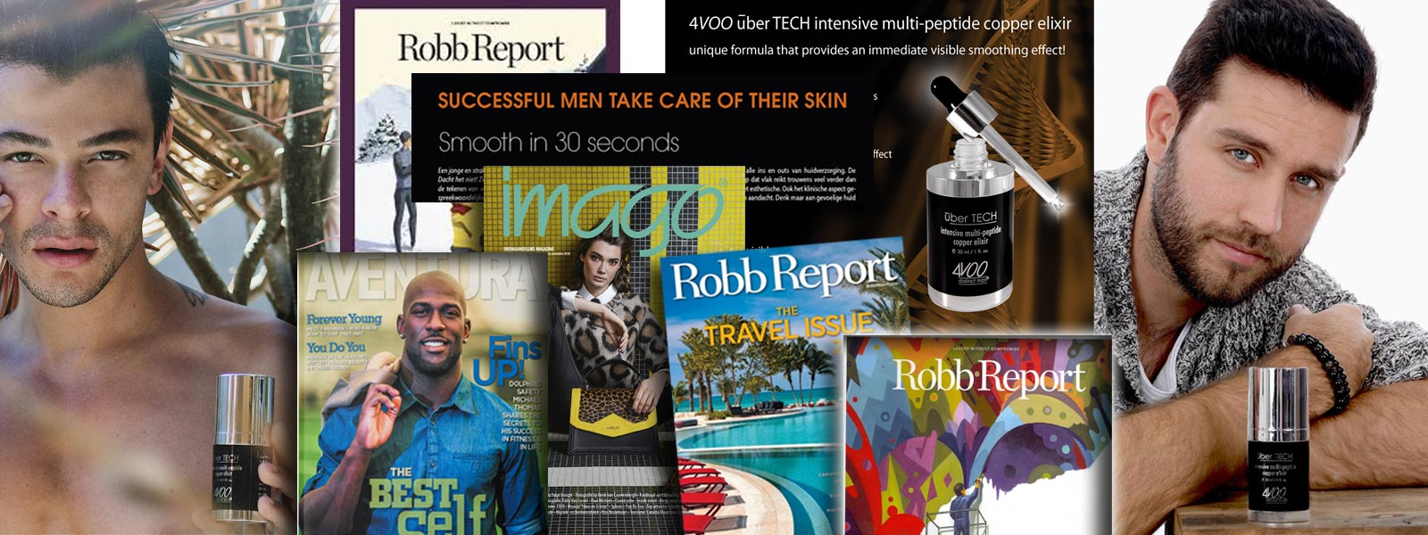 4VOO uber TECH  intensive multi-peptide copper elixir recommended by press