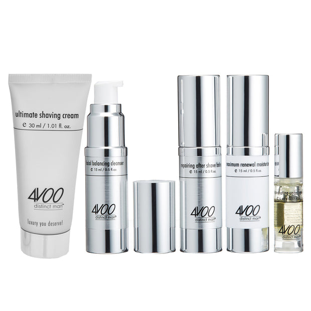 4VOO travel size skin care products