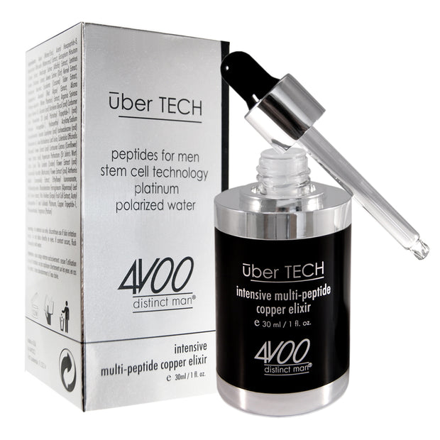 4VOO uber TECH  intensive multi-peptide copper elixir