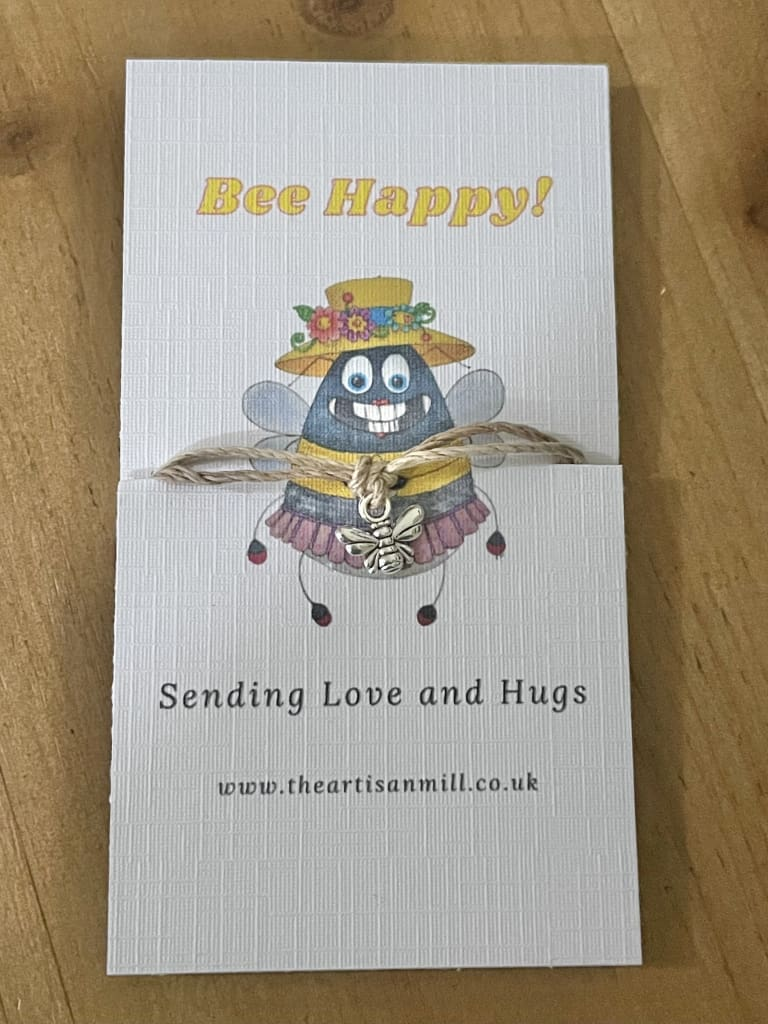 Bee Happy Hug String Accessories