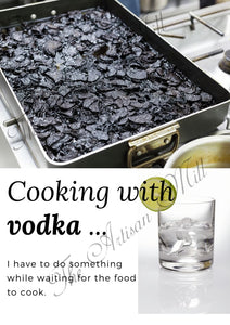 Cooking With Vodka Accessories