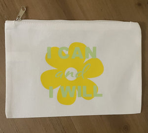 I Can Cotton Accessory Bag Accessories