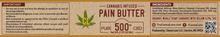 Load image into Gallery viewer, 2oz Pain Butter 500mg
