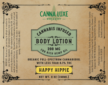 Load image into Gallery viewer, 8oz Body Lotion - Happy Hippie