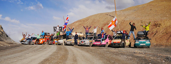 Grab your summer by the balls - The Mongol Rally