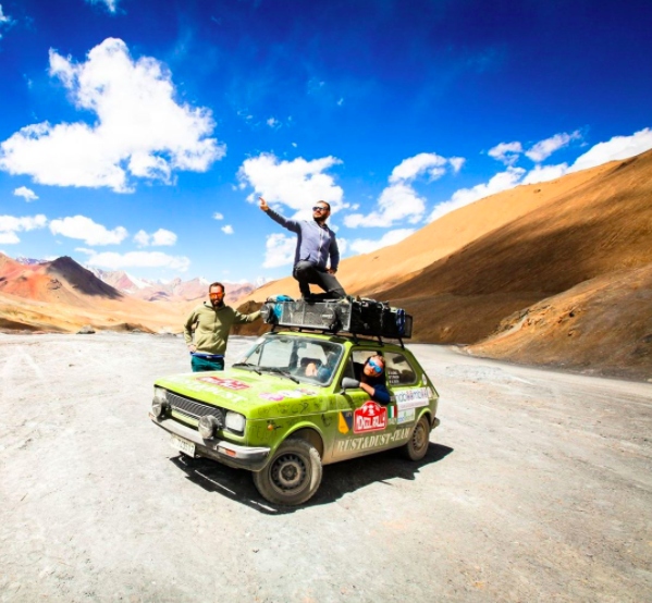 M-24 on the Mongol RALLY