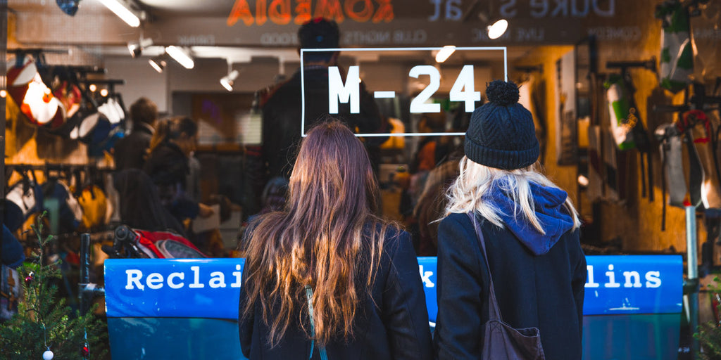 Peering into M-24's flagship store