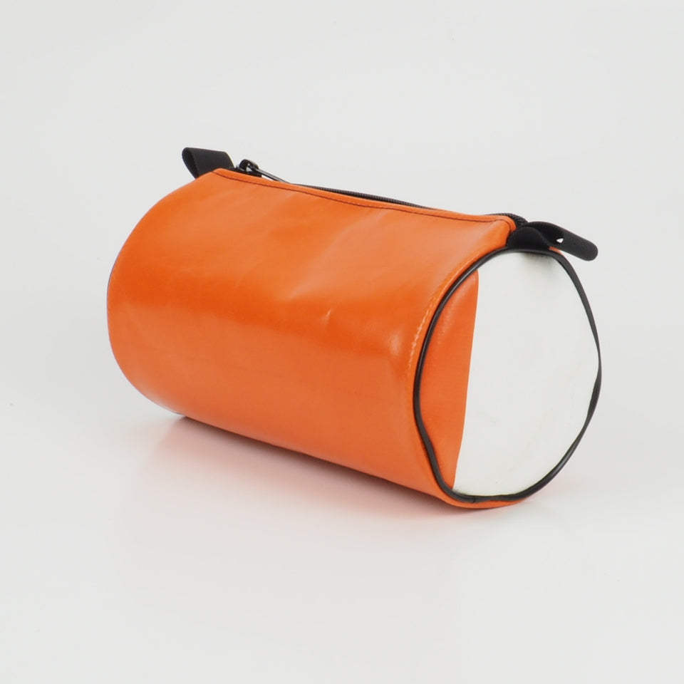 Duffle - white and orange - No.1314