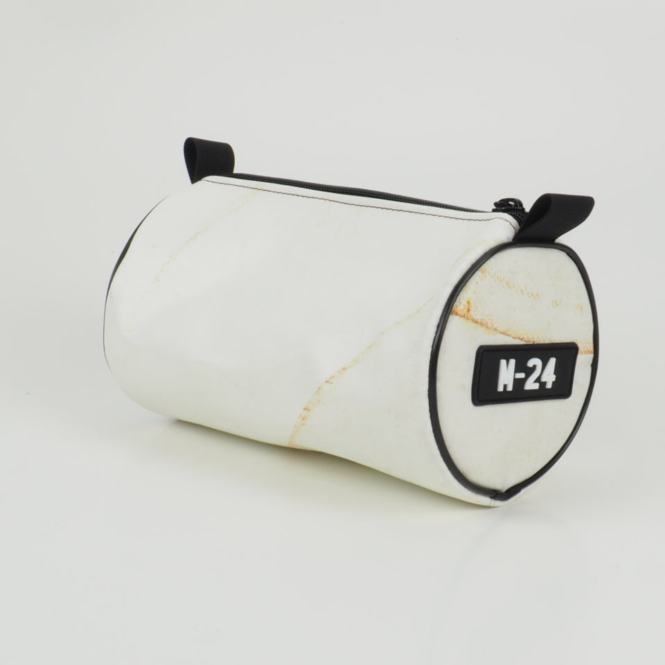 Duffle - white and orange - No.1312