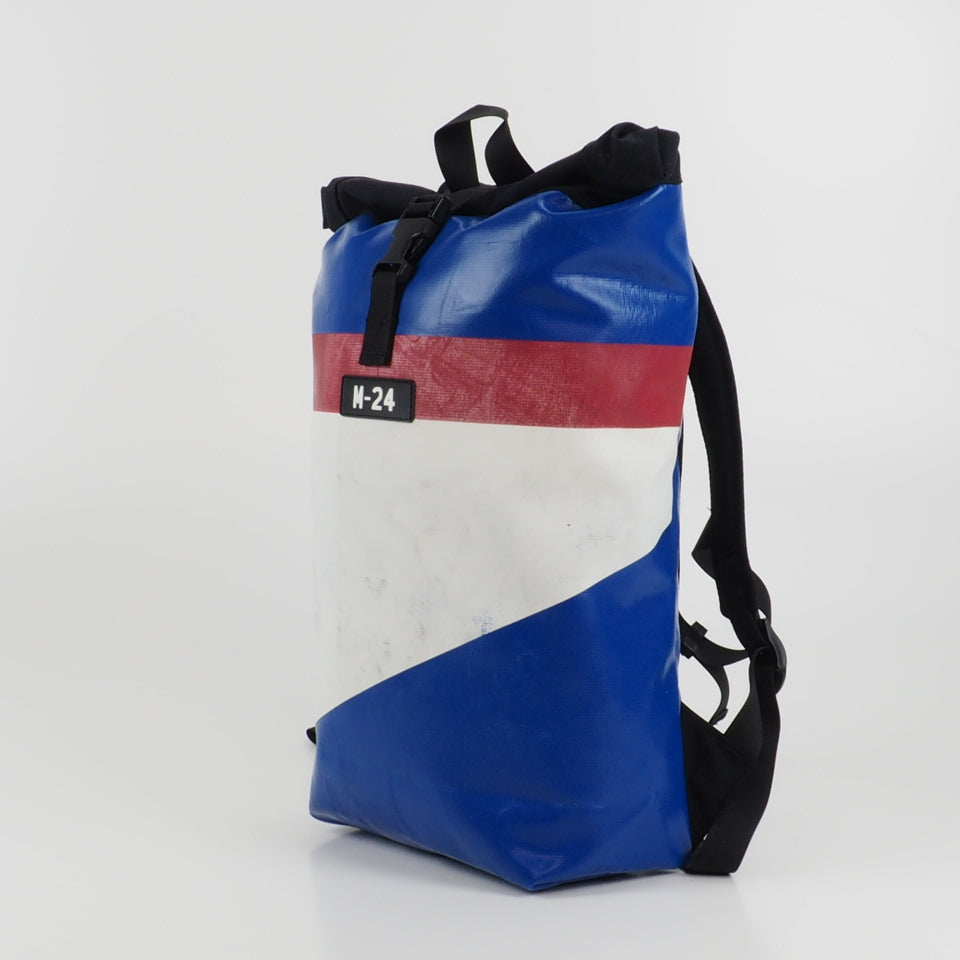 Rogue backpack - blue, red and white - No.638