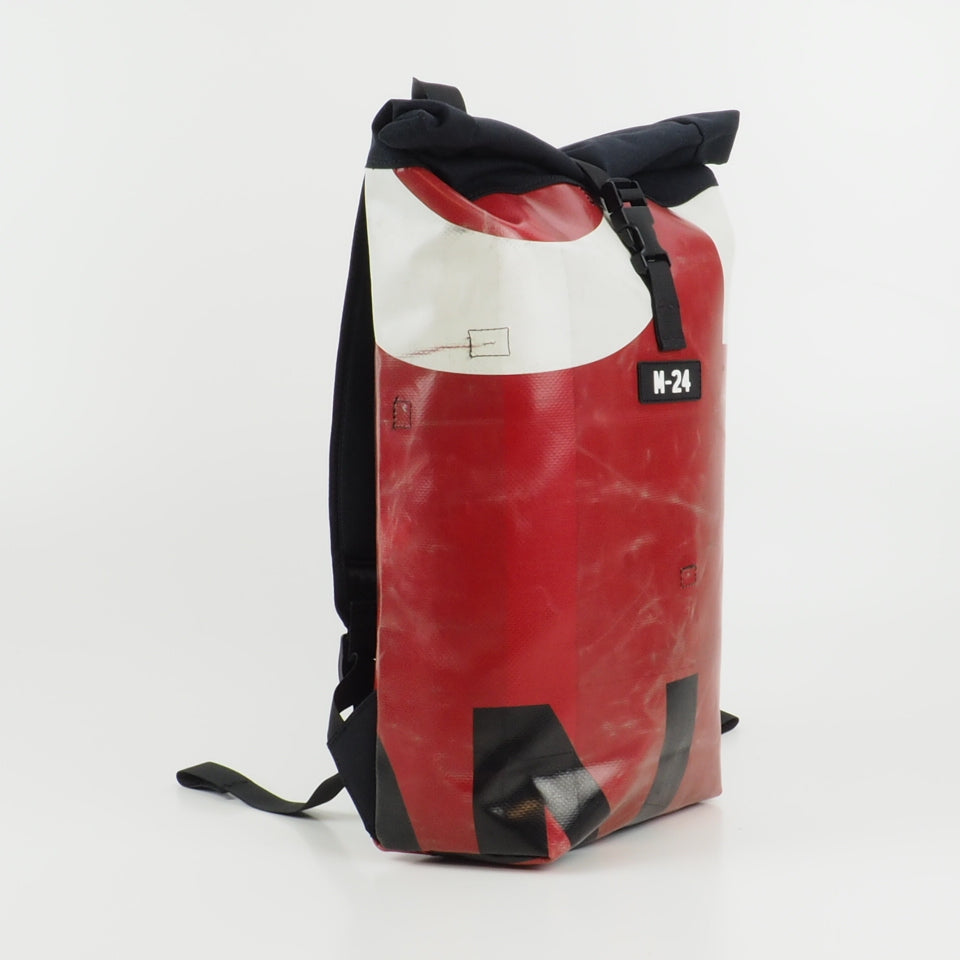 Rogue backpack - red, black and white - No.613 [repaired]