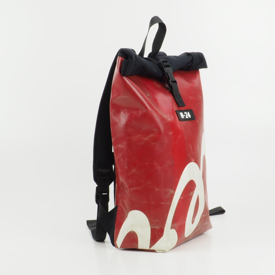 Rogue backpack - red and white - No.604