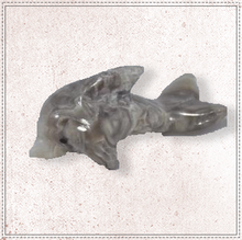 "Load image into Gallery viewer, 2"" Marble Dolphin"