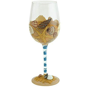Seaside Wine Glass by Lolita