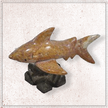 "Load image into Gallery viewer, 4"" Marble Shark"