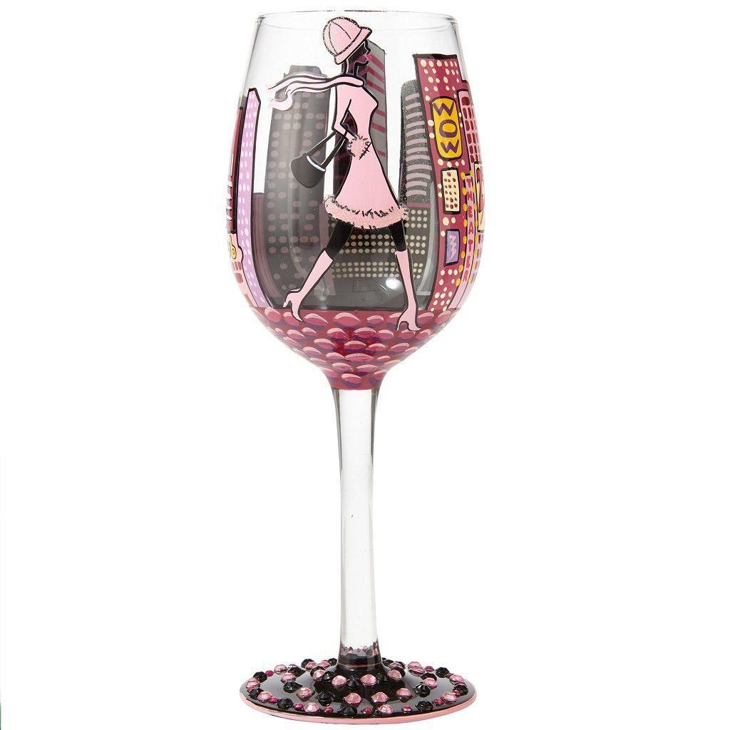 City Life Wine Glass By Lolita