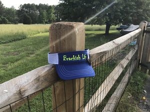 Brackish Life Royal Blue Visor